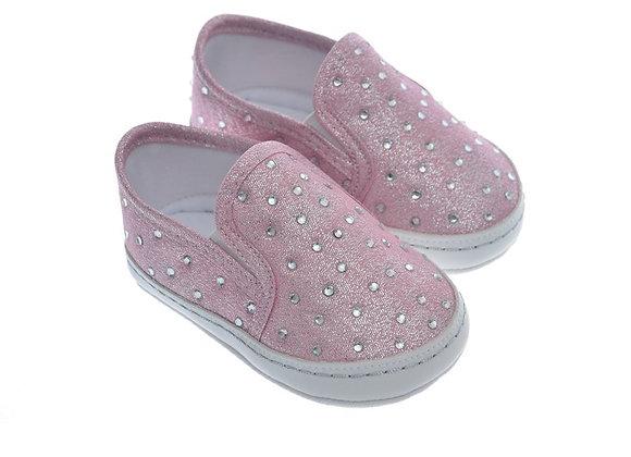 911218 Freesure Pembe Kız Bebek Patik  Bebek Ayakkabı