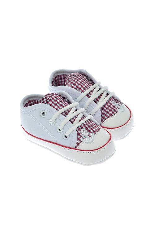 811720 Freesure Beyaz Erkek Bebek Patik  Bebek Ayakkabı