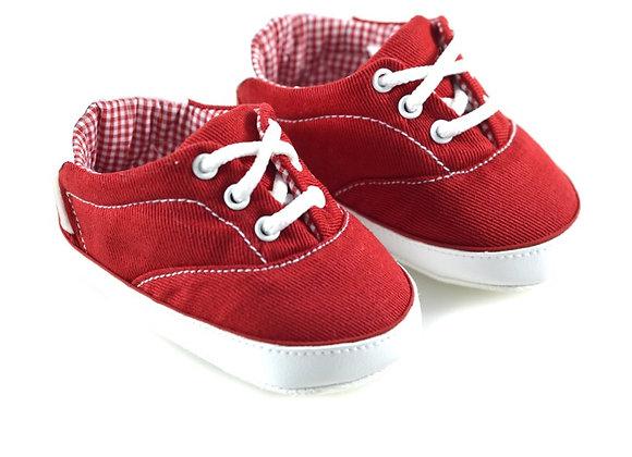 511051 Freesure Kırmızı Erkek Bebek Patik  Bebek Ayakkabı