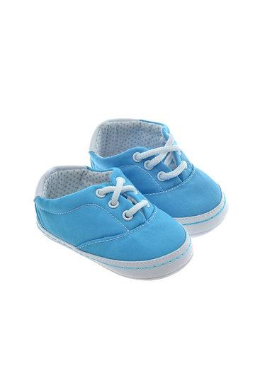 511024 Freesure Turkuaz Kız Bebek Patik  Bebek Ayakkabı