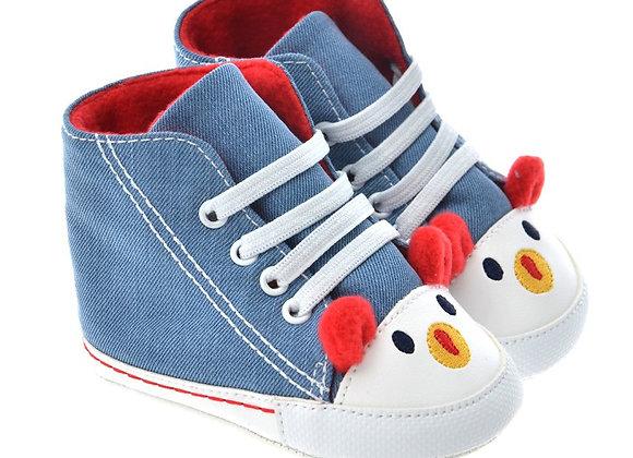 712504 Freesure Kırmızı Erkek Bebek Patik  Bebek Ayakkabı