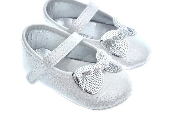 511027 Freesure Silver Kız Bebek Patik  Bebek Ayakkabı