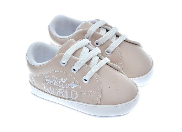 201119 Freesure Ecru Kız Bebek Patik  Bebek Ayakkabı