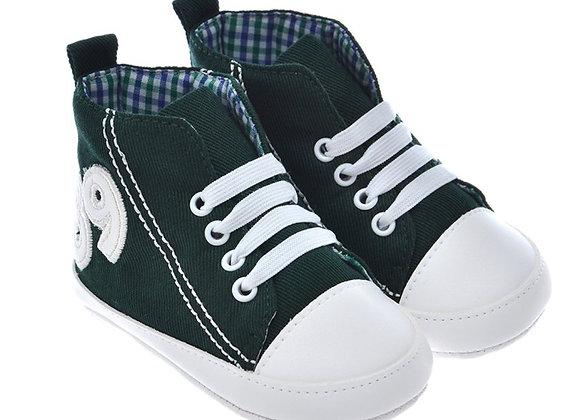 812861 Freesure Yeşil Erkek Bebek Patik  Bebek Ayakkabı