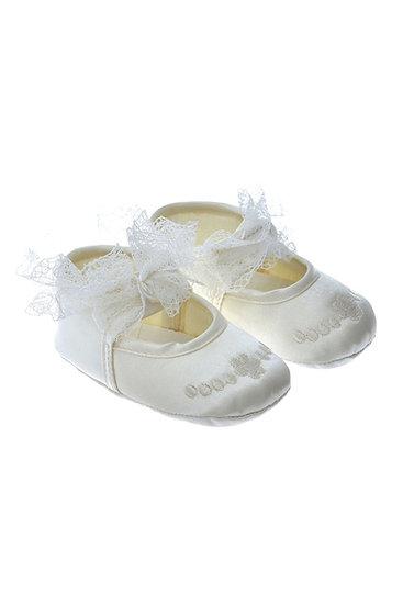 812809 Freesure Ekru Kız Bebek Patik  Bebek Ayakkabı