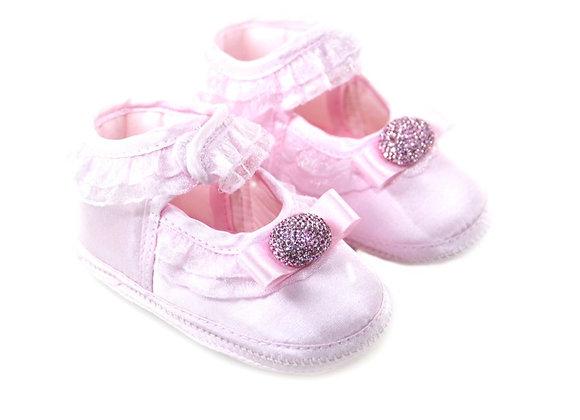 511021 Freesure Pembe Kız Bebek Patik  Bebek Ayakkabı