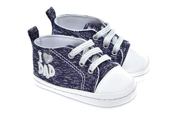 201117 Freesure Lacivert  Kız Bebek Patik  Bebek Ayakkabı