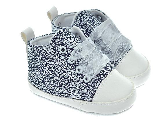 201115 Freesure Lacivert Kız Bebek Patik  Bebek Ayakkabı