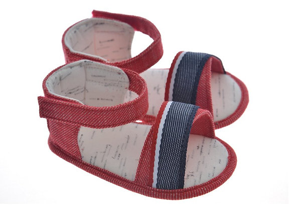 911230 Freesure Kırmızı Kız Bebek Patik  Bebek Ayakkabı