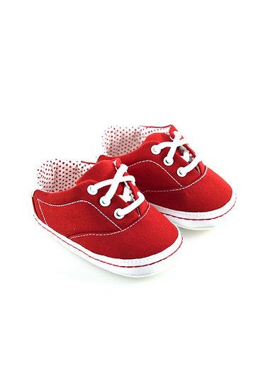 511024 Freesure Kırmızı Kız Bebek Patik  Bebek Ayakkabı