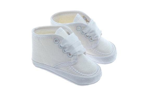 511067 Freesure Beyaz Erkek Bebek Patik  Bebek Ayakkabı