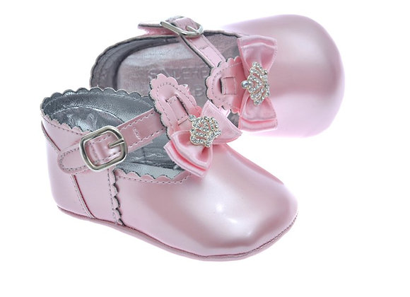911211 Freesure Pembe Kız Bebek Patik  Bebek Ayakkabı