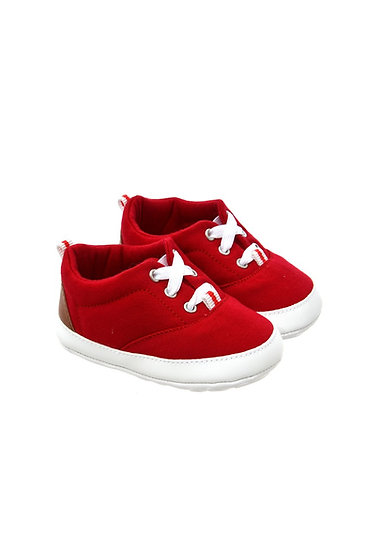 812860 Freesure Red Erkek Bebek Patik  Bebek Ayakkabı