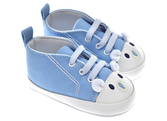 201212 Freesure Mavi Erkek Bebek Patik  Bebek Ayakkabı