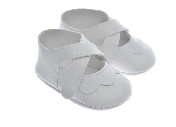 911220 Freesure Beyaz Kız Bebek Patik  Bebek Ayakkabı