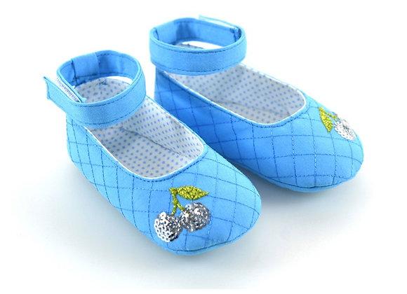 511002 Freesure Turkuaz Kız Bebek Patik  Bebek Ayakkabı