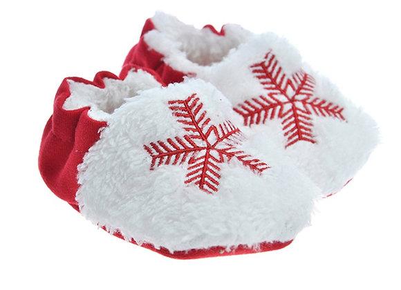 912540 Freesure Kırmızı Erkek Bebek Patik  Bebek Ayakkabı