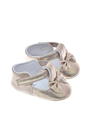 201114 Freesure Gold Kız Bebek Patik  Bebek Ayakkabı