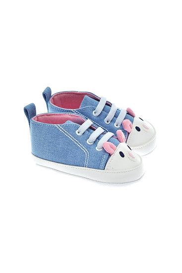 201116 Freesure Açık Kot Kız Bebek Patik  Bebek Ayakkabı