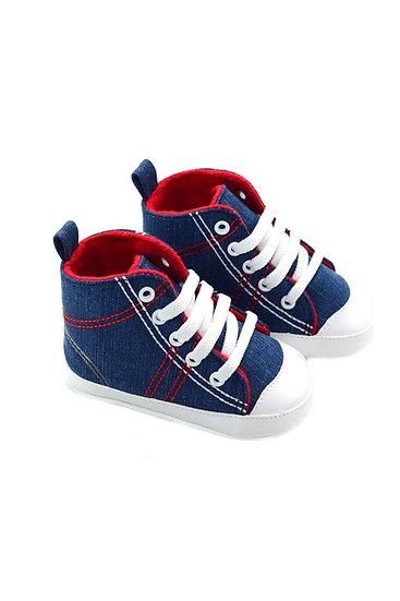 512152 Freesure Kırmızı Erkek Bebek Patik  Bebek Ayakkabı