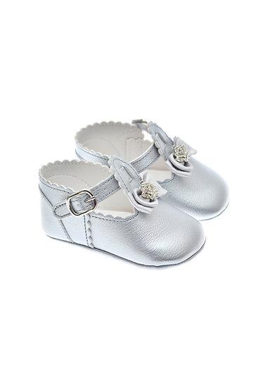 201123 Freesure Silver Kız Bebek Patik  Bebek Ayakkabı