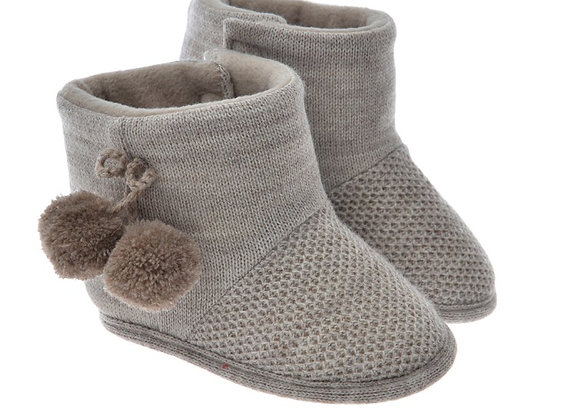 712515 Freesure Camel Kız Bebek Patik  Bebek Ayakkabı