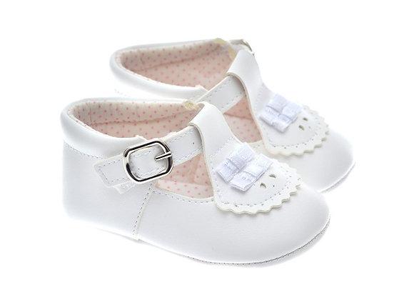 201121 Freesure Beyaz Kız Bebek Patik  Bebek Ayakkabı