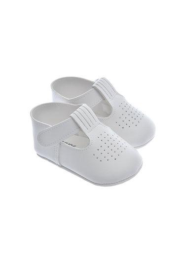 911408 Freesure Beyaz Erkek Bebek Patik  Bebek Ayakkabı