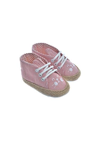 911228 Freesure Kırmızı Kız Bebek Patik  Bebek Ayakkabı