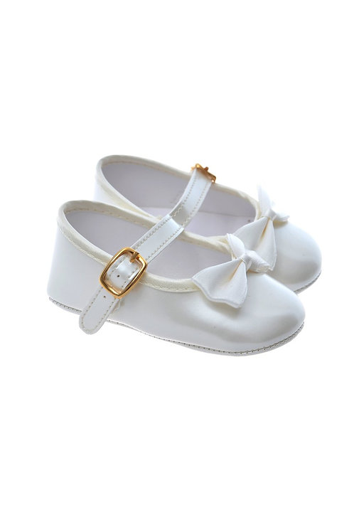 2000 Freesure Ekru Kız Bebek Patik  Bebek Ayakkabı