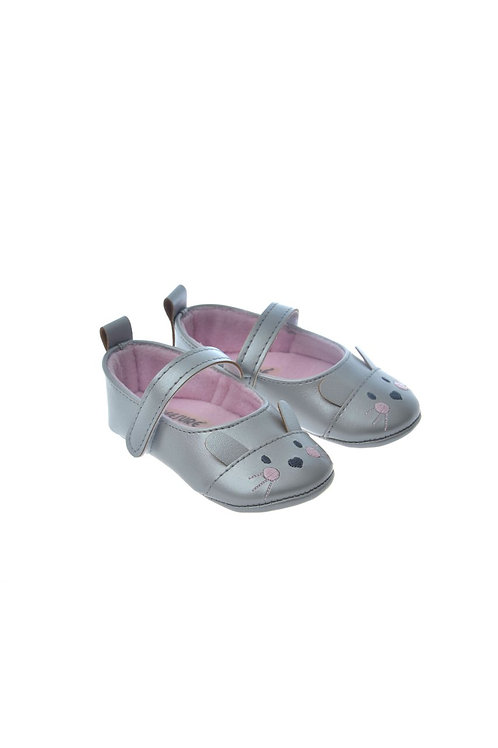 812801 Freesure Silver Kız Bebek Patik  Bebek Ayakkabı