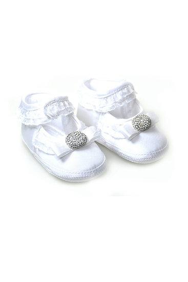 511021 Freesure Beyaz Kız Bebek Patik  Bebek Ayakkabı
