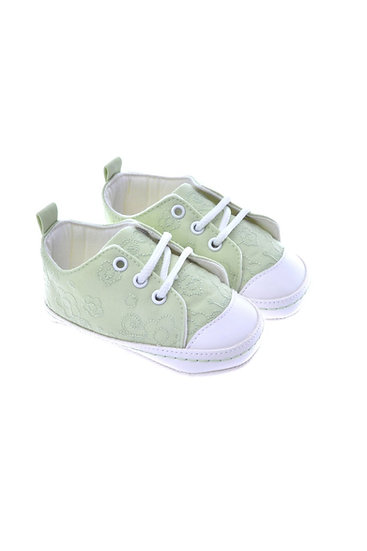511006 Freesure Yeşil Kız Bebek Patik  Bebek Ayakkabı