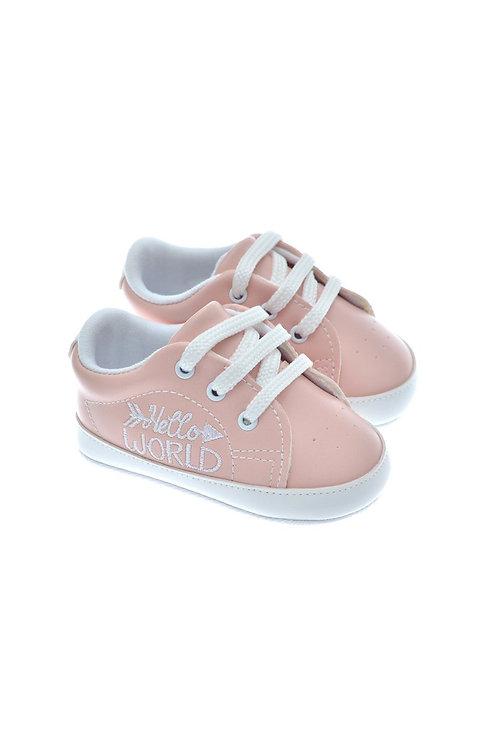 201119 Freesure Pudra Kız Bebek Patik  Bebek Ayakkabı