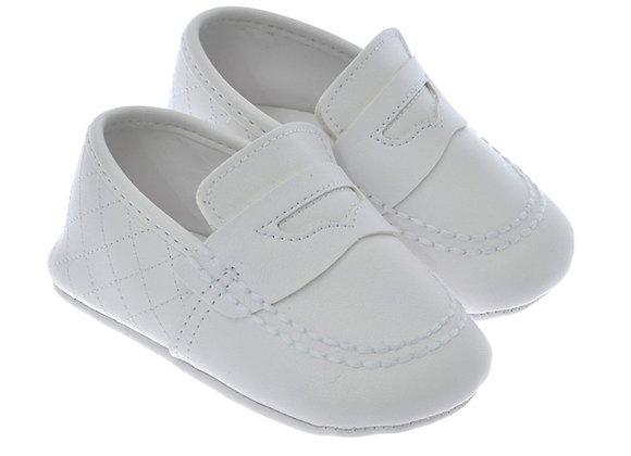 711202 Freesure Beyaz Erkek Bebek Patik  Bebek Ayakkabı