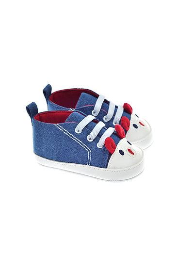 201116 Freesure Koyu Kot Kız Bebek Patik  Bebek Ayakkabı