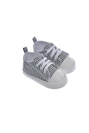 911406 Freesure Siyah Erkek Bebek Patik  Bebek Ayakkabı