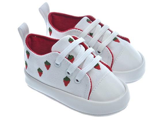 911224 Freesure Beyaz Kız Bebek Patik  Bebek Ayakkabı