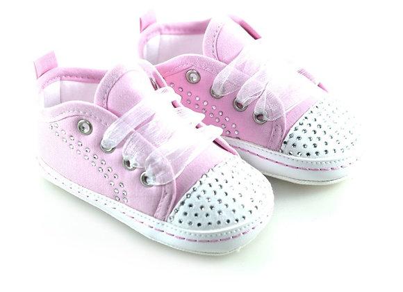 511012 Freesure Pembe Kız Bebek Patik  Bebek Ayakkabı