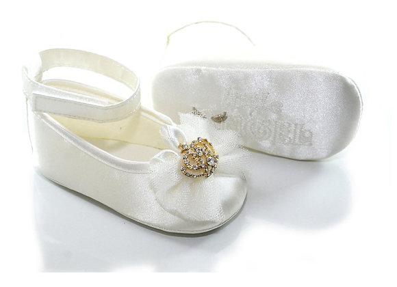 611006 Freesure Ekru Kız Bebek Patik  Bebek Ayakkabı