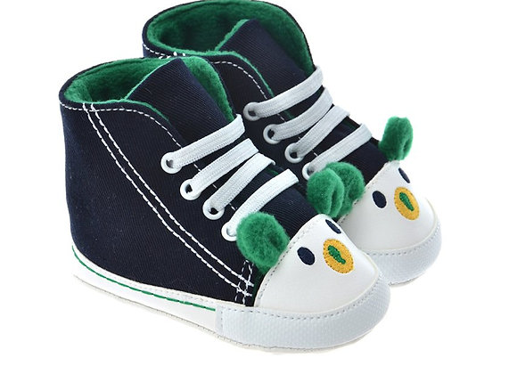 712504 Freesure Yeşil Erkek Bebek Patik  Bebek Ayakkabı