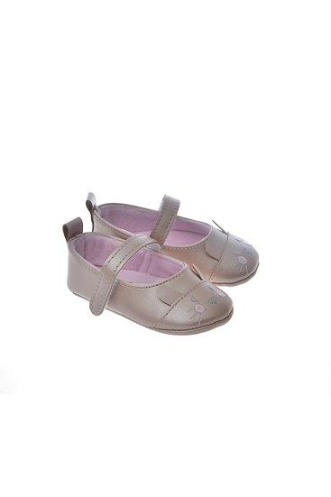 812801 Freesure Gül Kurusu Kız Bebek Patik  Bebek Ayakkabı