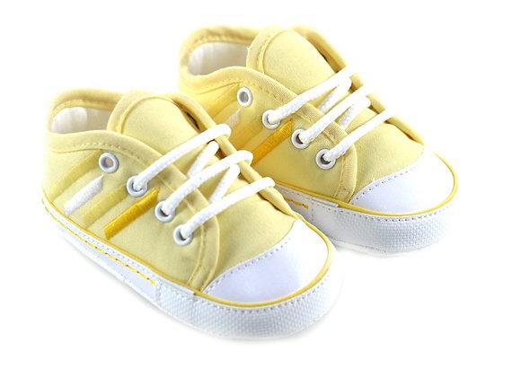 511062 Freesure Sarı Erkek Bebek Patik  Bebek Ayakkabı