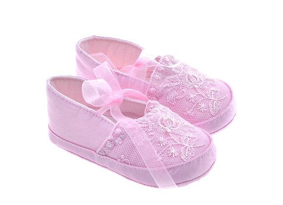 811619 Freesure Pembe Kız Bebek Patik  Bebek Ayakkabı