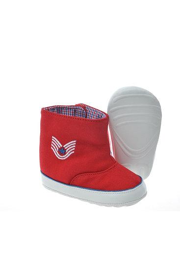 712514 Freesure Kırmızı Bebek Patik  Bebek Ayakkabı
