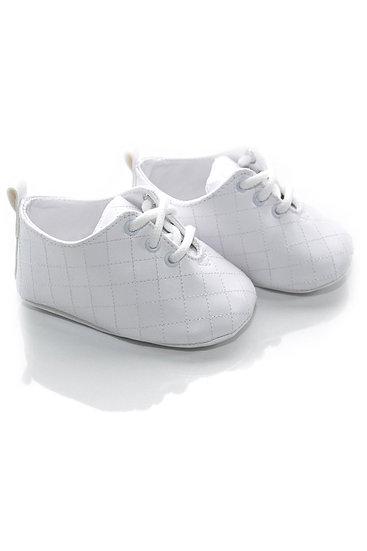 31401 Freesure Beyaz Erkek Bebek Patik  Bebek Ayakkabı
