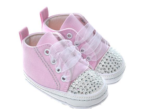 91102 Freesure Pembe Kız Bebek Patik  Bebek Ayakkabı