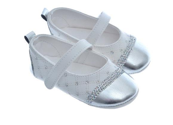 911225 Freesure Silver Kız Bebek Patik  Bebek Ayakkabı