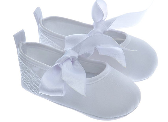 911227 Freesure Beyaz Kız Bebek Patik  Bebek Ayakkabı