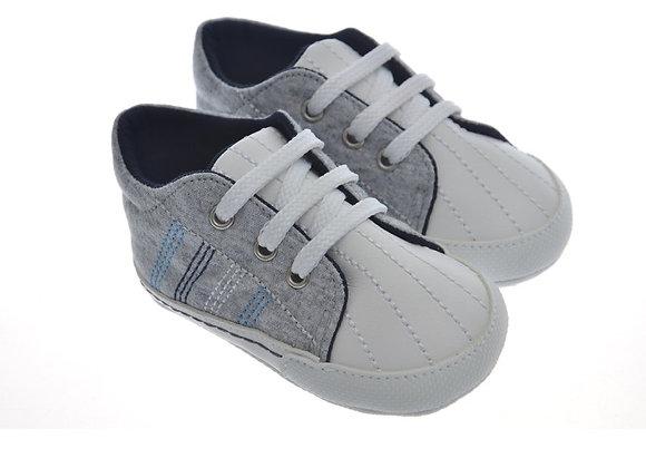 911415 Freesure Gri Erkek Bebek Patik  Bebek Ayakkabı